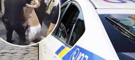 В Одессе из-за маски произошло побоище с полицией (ВИДЕО)