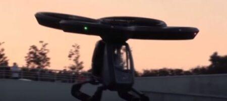 Первый летающий автомобиль прошел испытания, появилось ВИДЕО