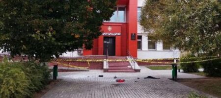 ЧП в Беларуси: мужчина совершил самосожжение у здания РОВД (ВИДЕО)