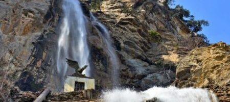 В Крыму пересох самый большой водопад: грустное ВИДЕО
