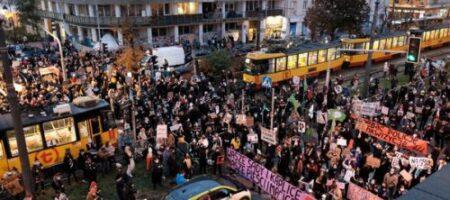 Противники запрета абортов перекрыли дороги