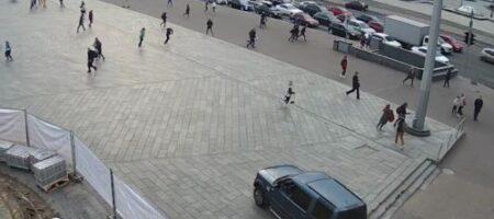 Жуткая смертельная авария на Майдане Независимости в Киеве: два человека погибли (ВИДЕО)
