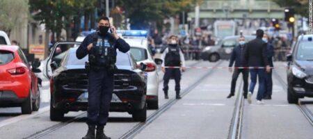 В ходе атаки в Ницце обезглавлена женщина, террориста задержали (ВИДЕО)