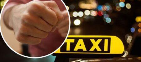 В Николаеве неадекватный пассажир такси напал на патрульного