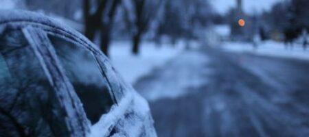 В Украине местами намело уже по 8 сантиметров снега