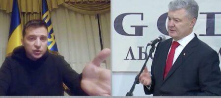 «Я ваш штраф, а не приговор»: Зеленский поругался с Порошенко в Сети