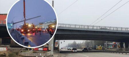 """""""Столбопад"""" на Шулявском мосту: в Институте Патона назвали причину ЧП"""