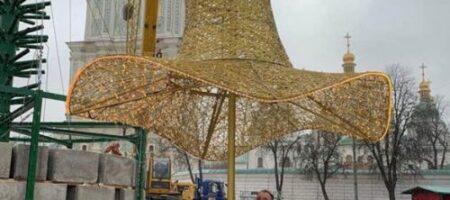Елка в шляпе – намек или издевательство? Главная лесная красавица Украины принарядилась (ВИДЕО)