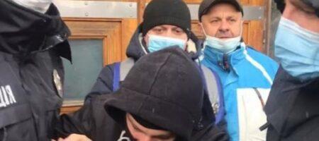 В Виннице активисты устроили массовое побоище под стенами ОГА