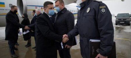 Зеленский прибыл в Харьков из-за пожара в доме престарелых