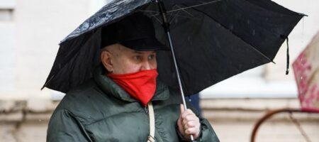 Украину задует резкий ветр и зальют дожди: синоптик дала прогноз