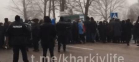 В регионах Украины люди протестуют против повышения цен на газ