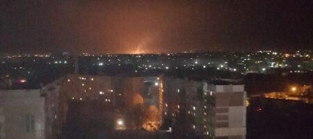 Сильный взрыв в Луганске: объявлена тревога, зарево горящего газопровода видит полгорода (ВИДЕО)