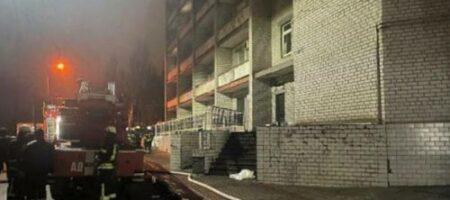В Запорожье задержан первый подозреваемый в пожаре в больнице