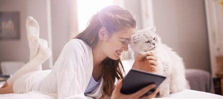 Почему кошка любят спать на человеке: шесть причин