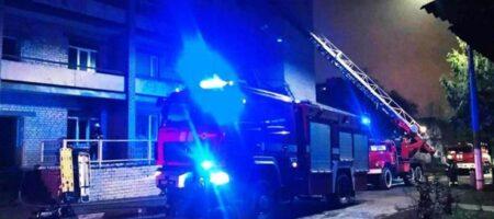 Названы версии пожара в больнице Запорожья