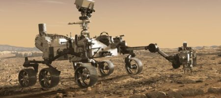 NASA успешно посадило на Марсе ровер Perseverance. Он уже передает снимки на Землю
