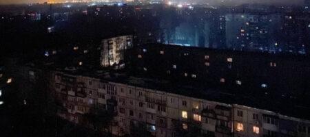 На Запорожской ТЭС произошла авария. В нескольких городах пропали водоснабжение и электричество