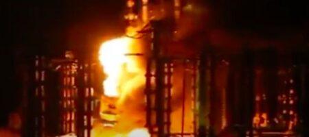 АВАРИЯ на крупнейшей ТЭС Украины: появилось видео