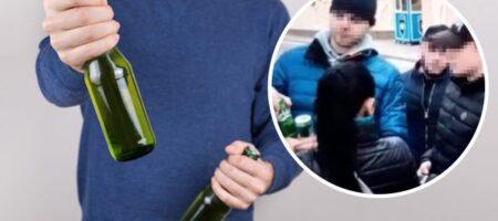 В центре Киева граждане России напали на украинцев: избили за распитие алкоголя