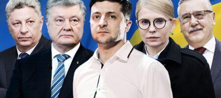 Зеленский продолжает лидировать в президентском рейтинге — опрос