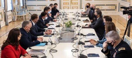 Итоги встречи президента Украины Владимира Зеленского с госсекретарем США Энтони Блинкеном