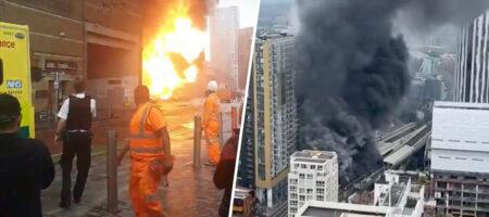 Мощный взрыв прогремел в центре Лондона (ВИДЕО)