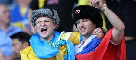 На матче Швеция - Украина подрались из-за российского триколора (ВИДЕО)