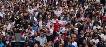 ЕВРО 2020: англичане будут безе поддержки. Английские болельщики лишились своих билетов на матч с Украиной
