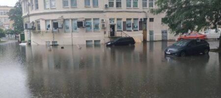 Мощные ливни затопили Одессу (ВИДЕО)