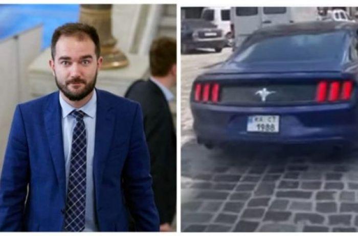 Депутат, устроивший ДТП, написал заявление на пострадавшего