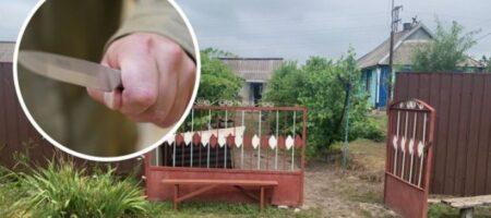 Под Кривым Рогом 28-летний нелюдь изрезал маленького мальчика