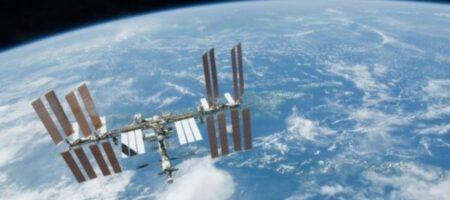 Российский модуль развернул космическую станцию на 45°