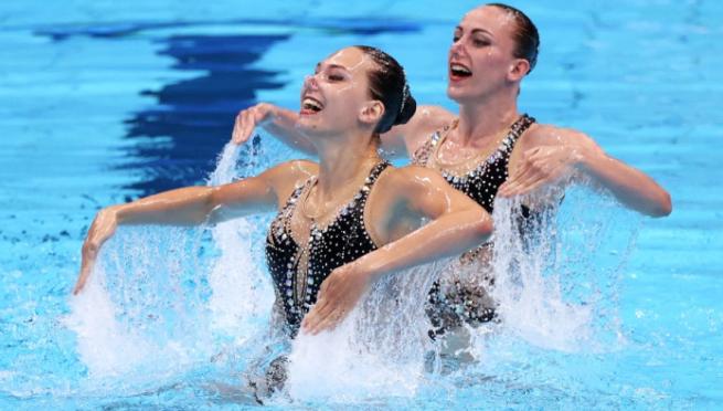 Федина и Савчук завоевали бронзу в артистическом плавании