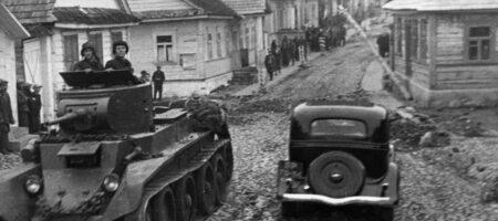 МИД РФ обнародовал пропогандистский пост о вторжении СССР в Польшу в 1939 году
