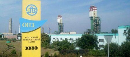 В Одессе остановился припортовый завод