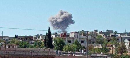 Российская авиация нанесла удар по турецким позициям в Сирии