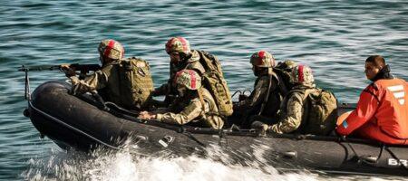 Высадка морпехов ВСУ на побережье: фоторепортаж