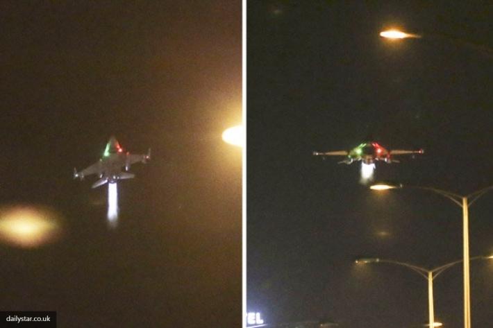 Появилось видео, как F-16 в Анкаре сбил военный вертолет, который расстреливал мирных граждан