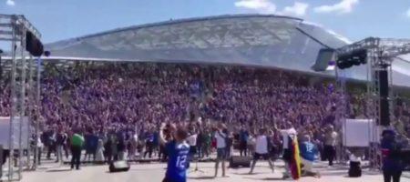 """Исландские болельщики опустили Путина, проскандировав под Кремлем """"Ху#ло!"""" (ВИДЕО)"""