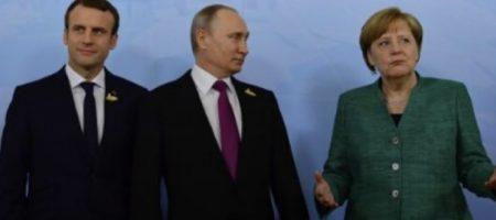 """""""Забыть о Крыме в обмен на..."""": появились детали тайных переговоров Путина с Меркель и Макроном"""