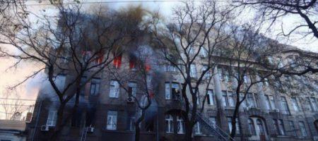 """""""Господи, спаси всех!"""" Чудом выжившая студентка рассказала жуткие подробности пожара в Одессе. ВИДЕО"""