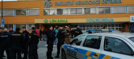 В Чехии обстреляли больницу: есть погибшие и раненые