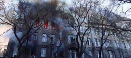 Смертельный пожар в одесском колледже: спасатели идентифицировали тела всех погибших (ВИДЕО)