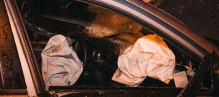 Страшное ДТП в Киеве: водитель Toyota устроил кровавое месиво на мосту Патона. ФОТО, ВИДЕО