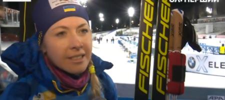 Юлия Джима в первой для себя гонке сезона сразу берет медаль