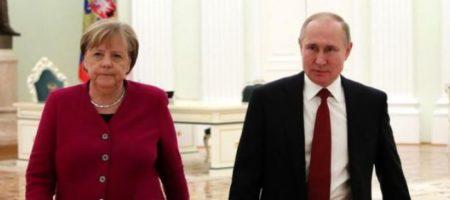 Путин в разговоре с Меркель настаивал на необходимости закрепления статуса Донбасса