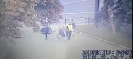 Луцкий террорист отпустил первых трех заложников (ВИДЕО)