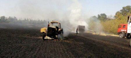 Зеленский вылетел в Луганскую область проконтролировать тушение пожаров