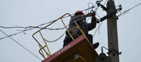Непогода в Украине оставила без электричества 23 села